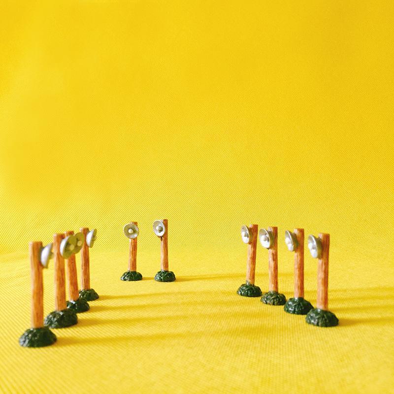 10pcs / lampe mignon / charmant / jardin féerique de jardin / décor de terrarium de mousse / artisanat / bonsaï / bouteille jardin / décor de table à la maison / fournitures de bricolage