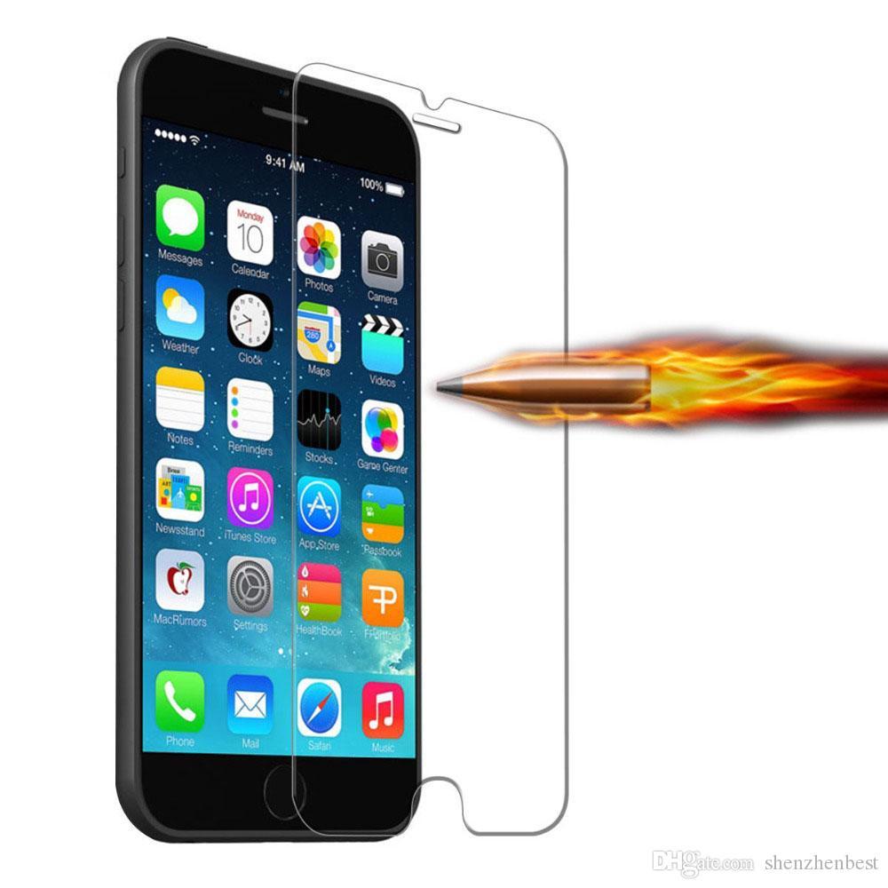 Nouvelle arrivée ultra mince 0.3mm premium verre trempé protecteur d'écran pour iPhone 6 4.7 pouces anti-déflagrant film pour Iphone 6 20pcs / lot