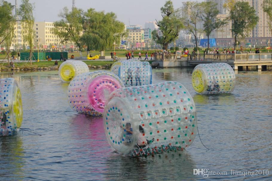 Zorb topu Su Silindiri Topu su yürüme topu PVC Su Sporları Fedex tarafından ücretsiz gemi