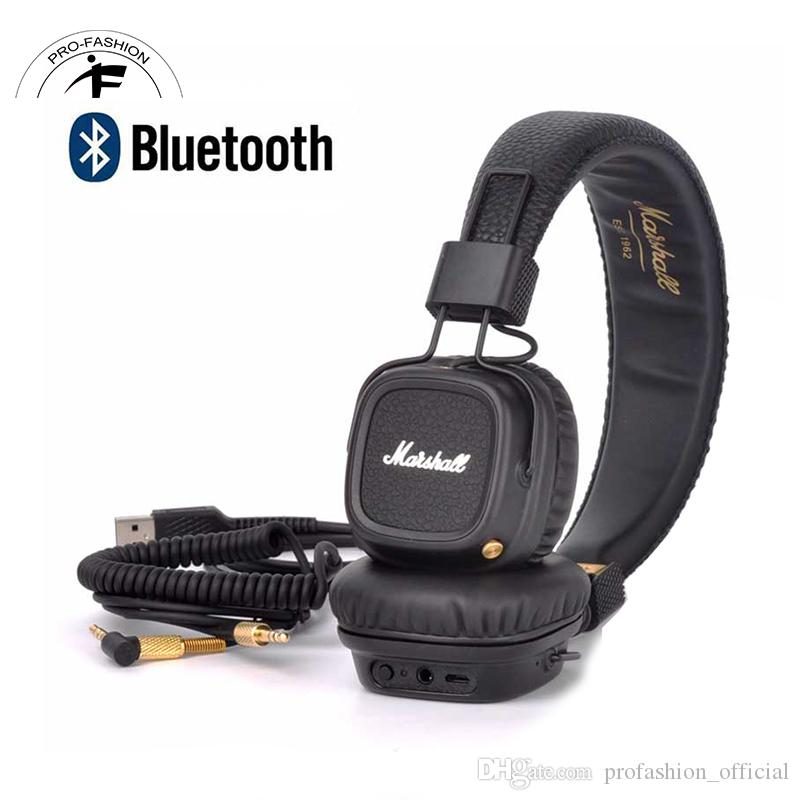Bluetoothe Marshall Major Wireless Headphones With Connect Cable Headset Hard Rock Dj Monitor Noise Isolating For Cellphone Pc Samsung Best Wireless Headphones Bluetooth Earbuds From Profashion Official 41 11 Dhgate Com