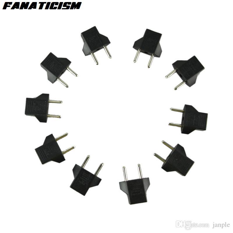 Fanatisme Chargeur universel AC Power Plug électrique Adaptador Convertisseur Pour européenne US Voyage EU Plug Adapter fiche de transfert