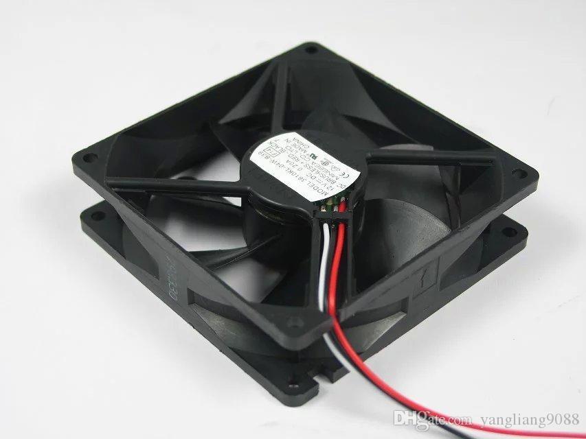 무료 배송 NMB 3610KL-04W-B39, F14 DC 12V 0.20A 3 선 3 핀 커넥터 90mm 90x90x25mm 서버 스퀘어 냉각 팬