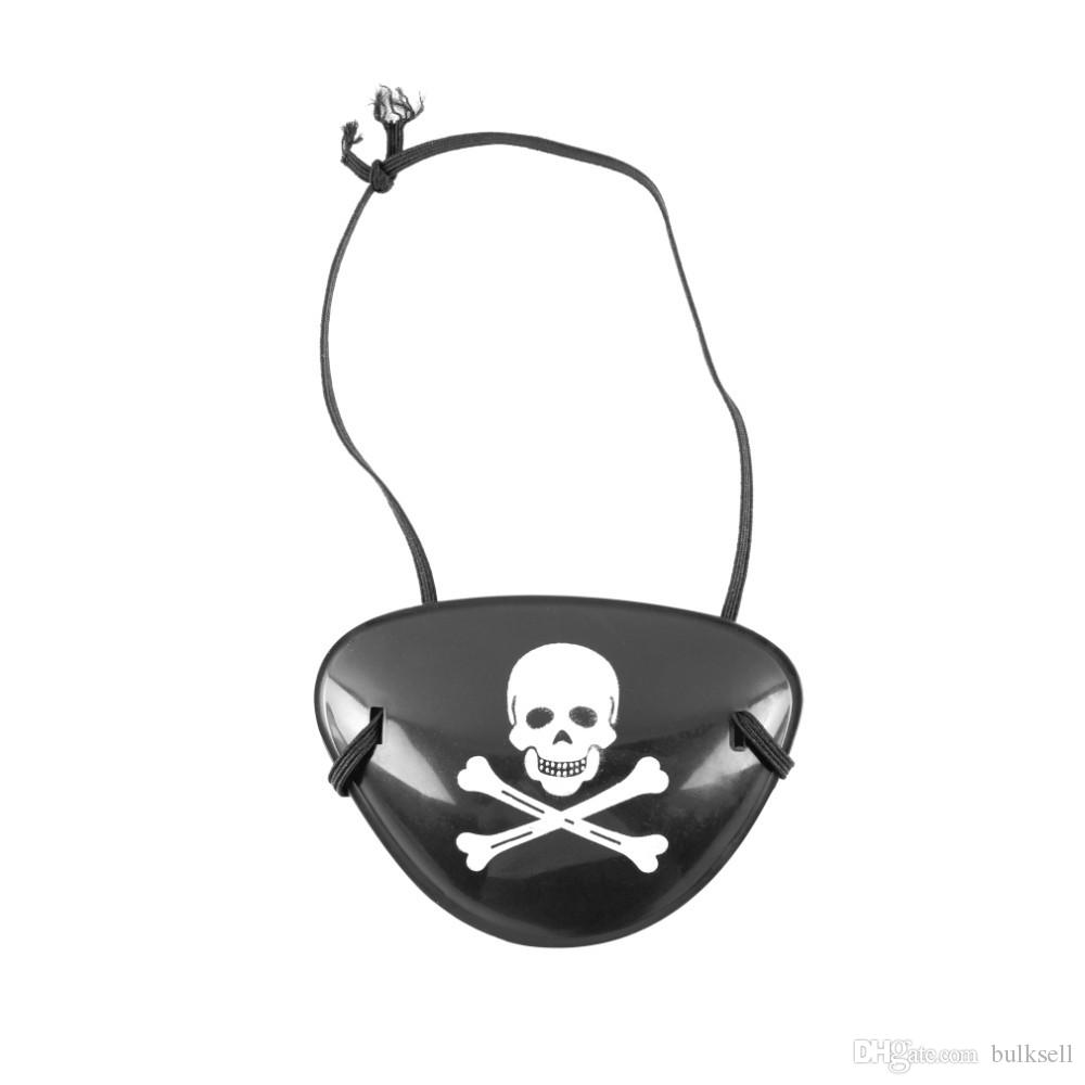 Pirate Eye Patch Skull Crossbone Halloween Party Favor Bag Costume ...
