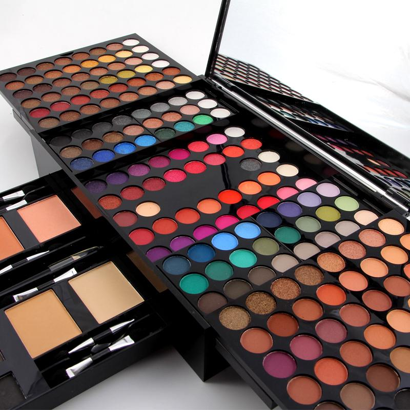 Technic Makeup Eye Shadow Blush Lipstick Powder Complete