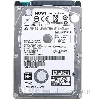 "HGST / Hitachi Z7K500 HTS725050A7E630 da 500 GB 7200 RPM Disco rigido portatile da 2,5 ""da 7 mm"