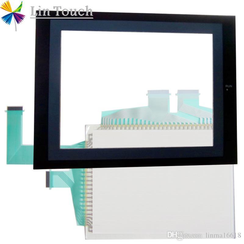 NOVA NS8-TV10B-V1 NS8-TV00B-ECV2 NS8-TV00B-V2 HMI PLC Tela Sensível Ao Toque E etiqueta dianteira Filme Ecrã táctil E Frontlabel