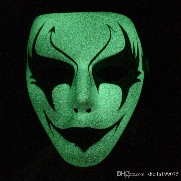 высокое качество Наруто реальный свет в темноте перетасовать танец хип-поп маска уличный шаг танцевальная вечеринка шоу смерть котенок маска