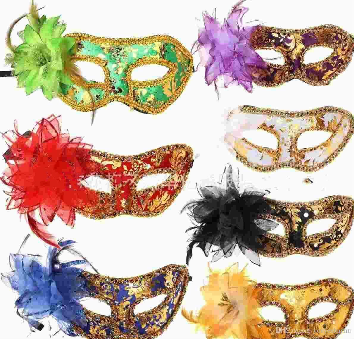 Venetian mask women's Party masks masquerade mask Lady Sexy masks 10pcs