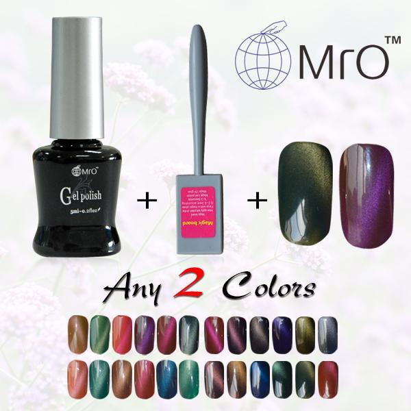Wholesale Mro A Magnet For Gel Nail Polish Unhas De Gel Lucky Set Of ...