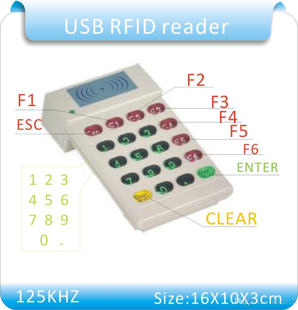 2019 HCE 706 USB Port 125KHz RFID Proximity ID Card Reader+Number Keyboard  ,From Sks2012, $16 07 | DHgate Com