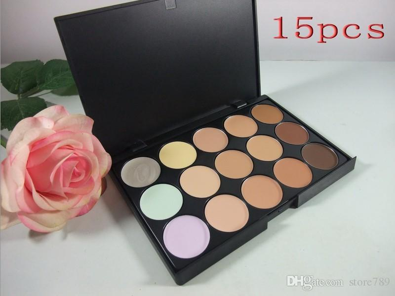 lowest price New HOT makeup PROFESSIONAL 15 color concealer palette+free shipping DHL