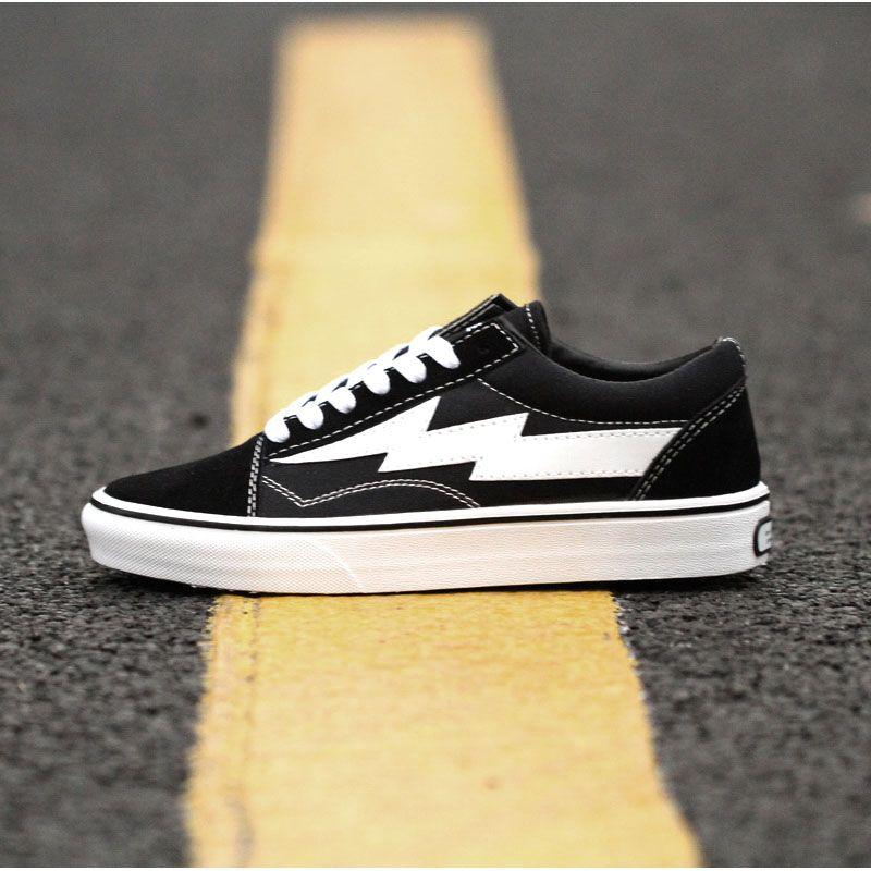 New Revenge X Storm Black Casual Shoes