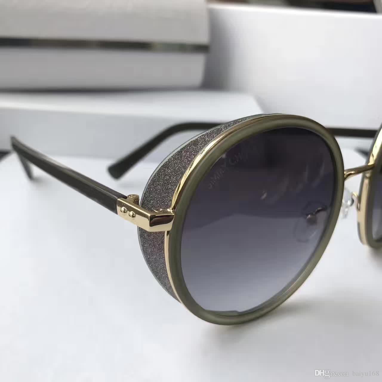 النساء آندي / S تسلق أسود رمادي المظللة النظارات الشمسية النظارات الشمسية جولة OCCHIALI دا الوحيد جديد في صندوق
