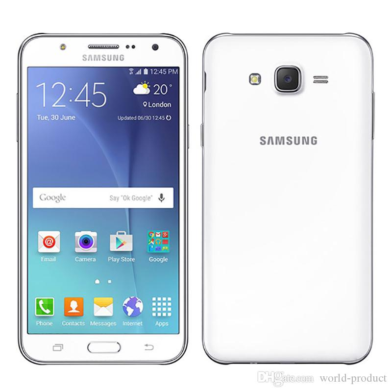 5.5INCH سامسونج غالاكسي J7 J700F الجيل الثالث 3G الهاتف الذكي تجديد الثماني الأساسية ثنائي مايكرو 1.5GB RAM 16GB ROM مقفلة الهاتف