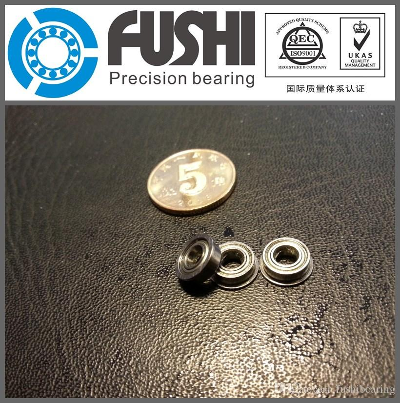 5 PCS SMF105zz MF105zz Stainless Steel FLANGED Ball Bearing Bearings 5x10x4 mm