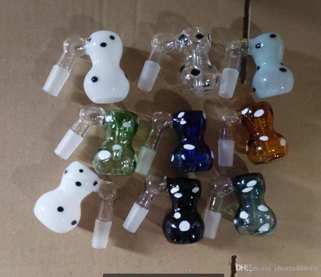 Accessori per bong punto spina zucca, Bruciatore a olio unico Tubi di vetro Bong Tubi per acqua Tubo di vetro Rigs per olio Fumo con contagocce