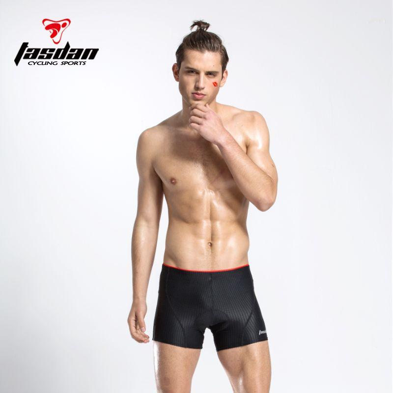 Comfortable Men/'s Cycling Underwear Shorts 3D Padded   MTB Biking Shorts Pants