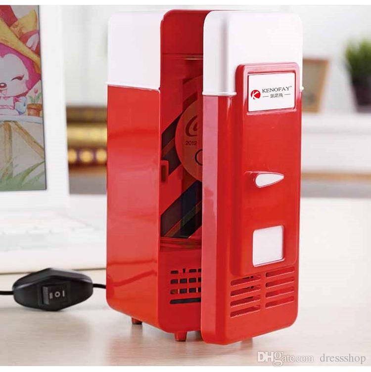 Incubator mini refrigerator freezer computer USB cooling warmer car refrigerator