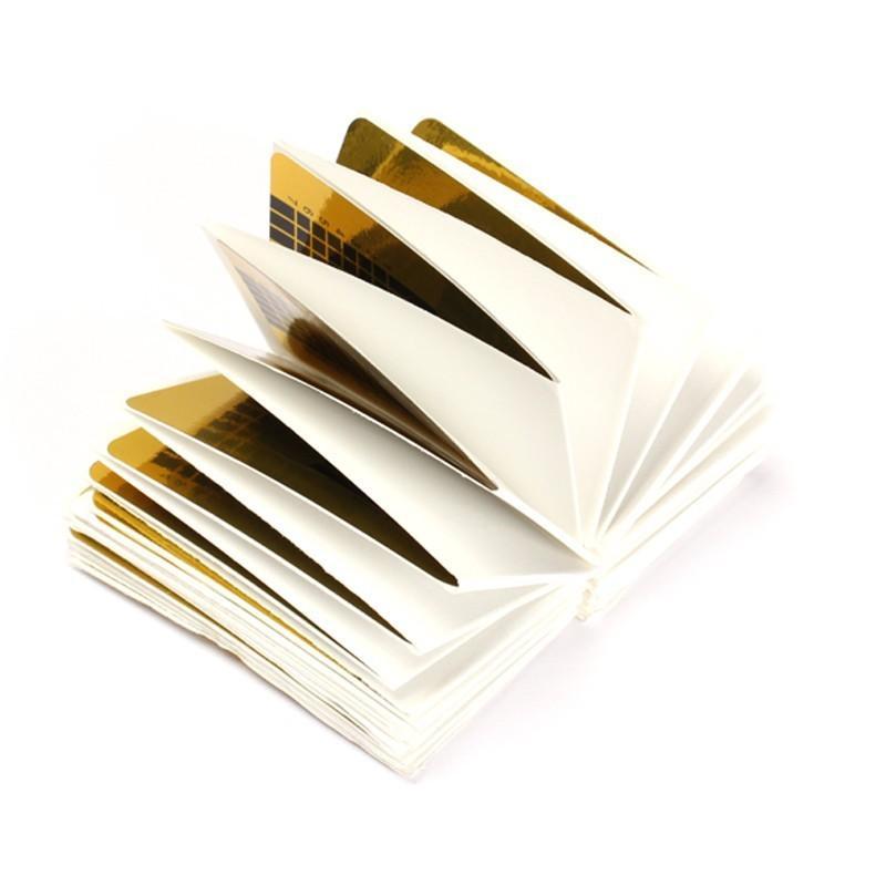 Großhandel-500 teile / paket Neue Professionelle Acryl U Form Nail art Folien Tipps Extension Guide Aufkleber für DIY Polnischen Gel Französisch Tipps Werkzeuge