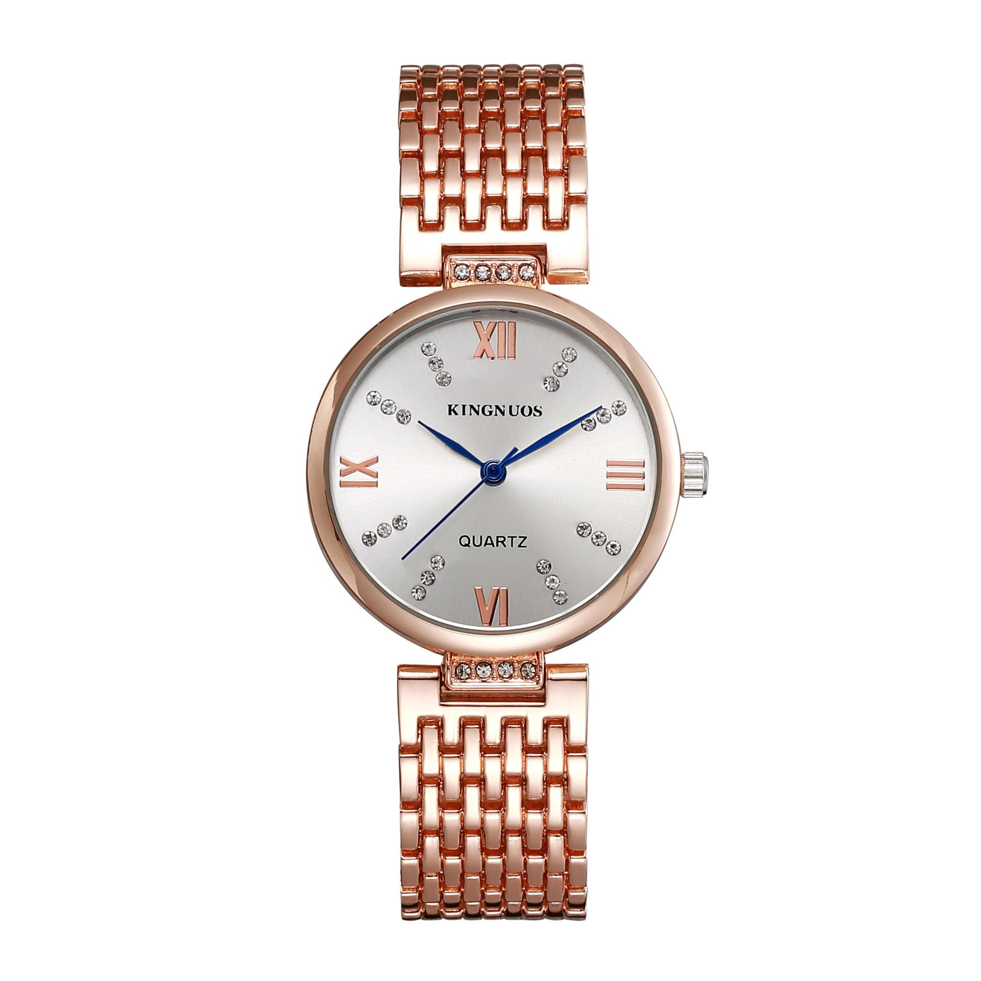 Shipping special offer high-end fashion ladies diamond watches solid stainless steel watch waterproof watch table student Mens Watch