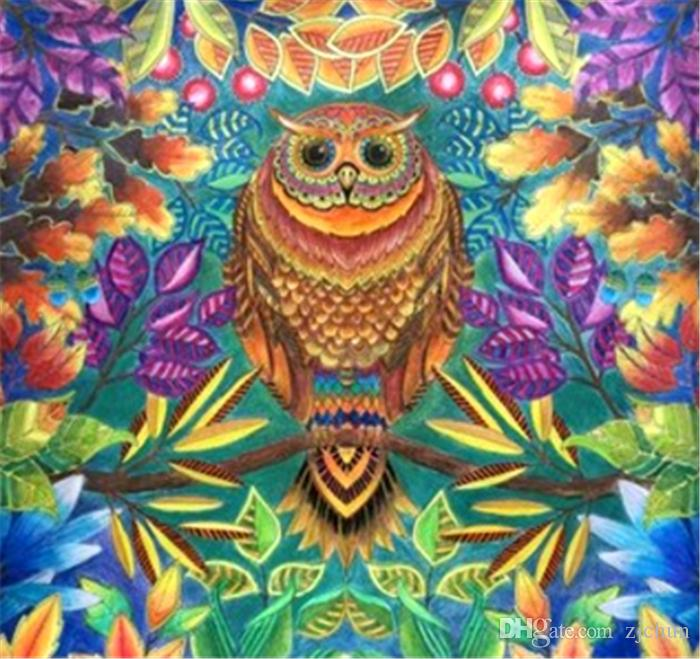 5D Diamond Embroidery needlework diy Diamond painting Cross Stitch Kits animal abstract owl full round diamond mosaic Room Decor y1154