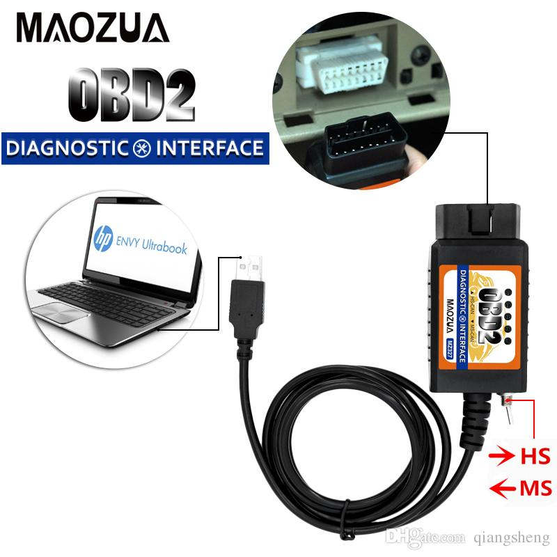 ELM327 USB OBD2 Modified Diagnostic Scanner Tool for Ford MS-CAN HS-CAN Mazda Tr