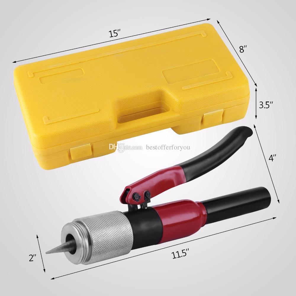 Prensa de tubos para tubos de pl/ástico y aluminio tubo vac/ío Thingles/® Exprimidor de tubos negro