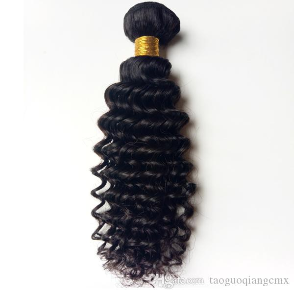 Brazilian virgin human hair weft kinky curly 8-30inch Malaysian Indian remy hair 3 4 5pc Unprocessed African American hair Best Quantity