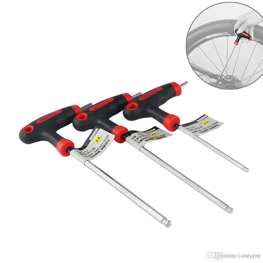 Chave de cone Bike Hub ferramentas de reparação de Ciclismo Bicicleta Roda Reparo Eixo Da Roda Pedal