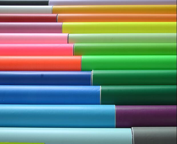 Großhandel - 0,45 * 10m selbstklebende massive farbe tapete für küche möbel schlafzimmer wandaufkleber papel haftung para muebles