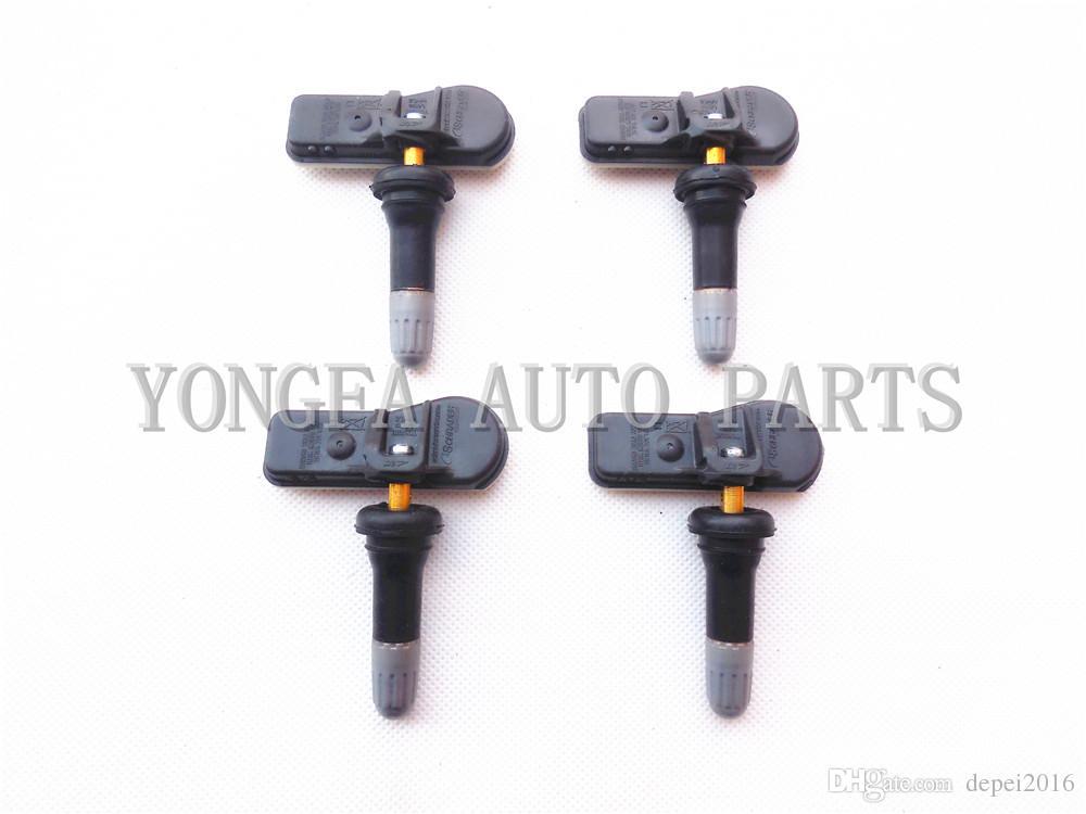 4pcs système de moniteur de pression des pneus de capteur TPMS d'origine 52933-B2100 52933B2100 433 MHz pour Hyundai Veloster i10 Kia Soul