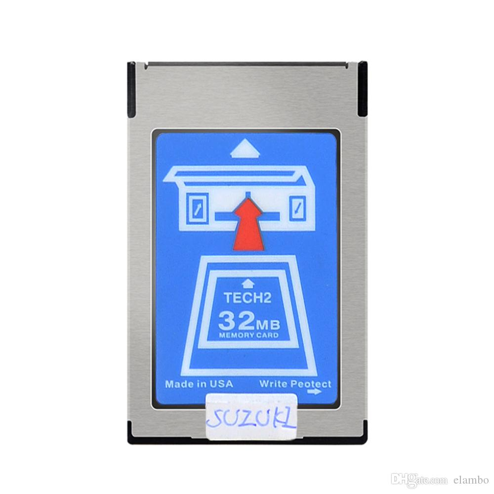 Newly arrived GM Tech2 Card With 6 Software 32MB Card For GM Tech2 Diagnostic Tool GM Tech 2 32MB Memory Card Free Shipping