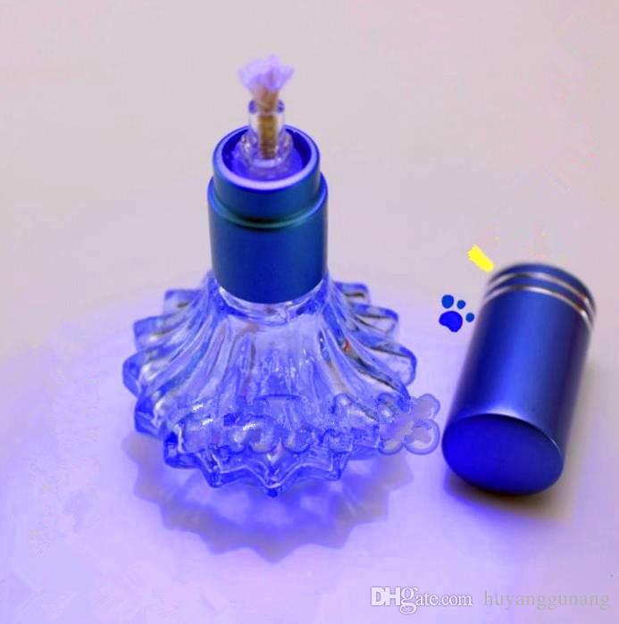 花びら青い古典的なDuoleng Altocm Lamp