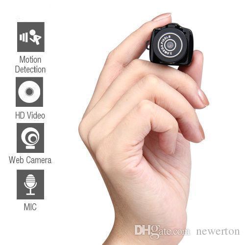 Menor y2000 HD Webcam Mini câmera gravador de vídeo filmadora DV DVR