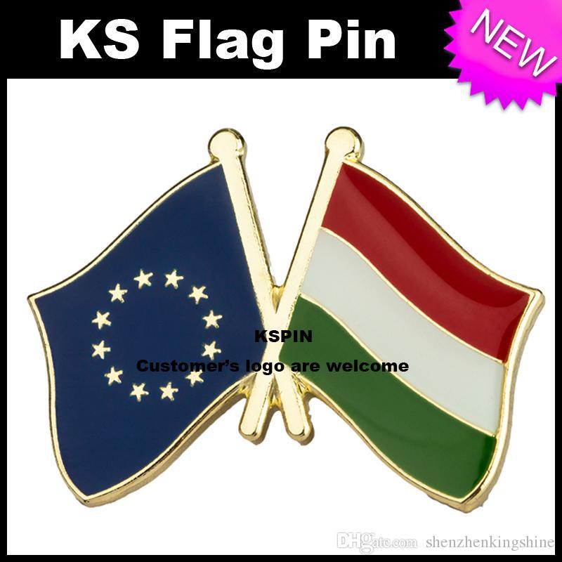 Il perno 10pcs della bandierina della bandierina della bandierina della bandiera di Hangery dell'Unione Europea molto libera il trasporto XY0074-8