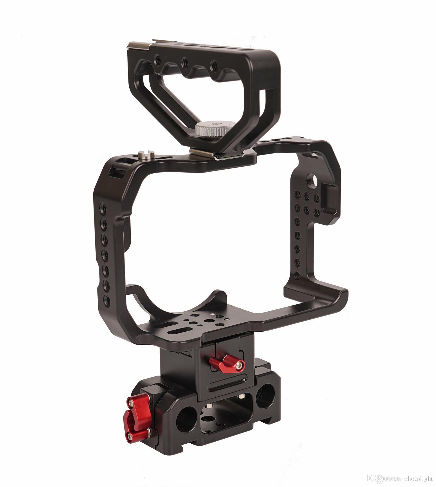 Gaiola de proteção CAME-TV para equipamento de câmera GH4 com cabo HT-GH4