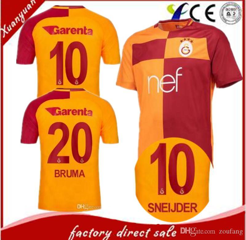 Galatasaray SK Turkey Football Soccer T Shirt Spor Kulubu Men/'s Team Sport New