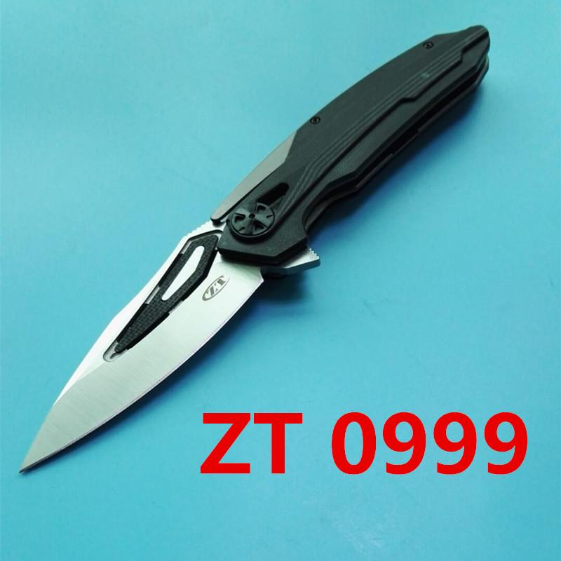 ZT 0999 D2 60HRC Clearance sales outdoor camping hunting survival knife as a gift for friends free shipping