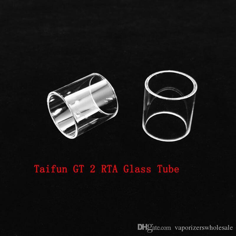Tubo di vetro di ricambio all'ingrosso Taifun GT 2 RTA con DHL spedizione gratuita acquistare a buon mercato Tubo di vetro Taifun GT 2 RTA