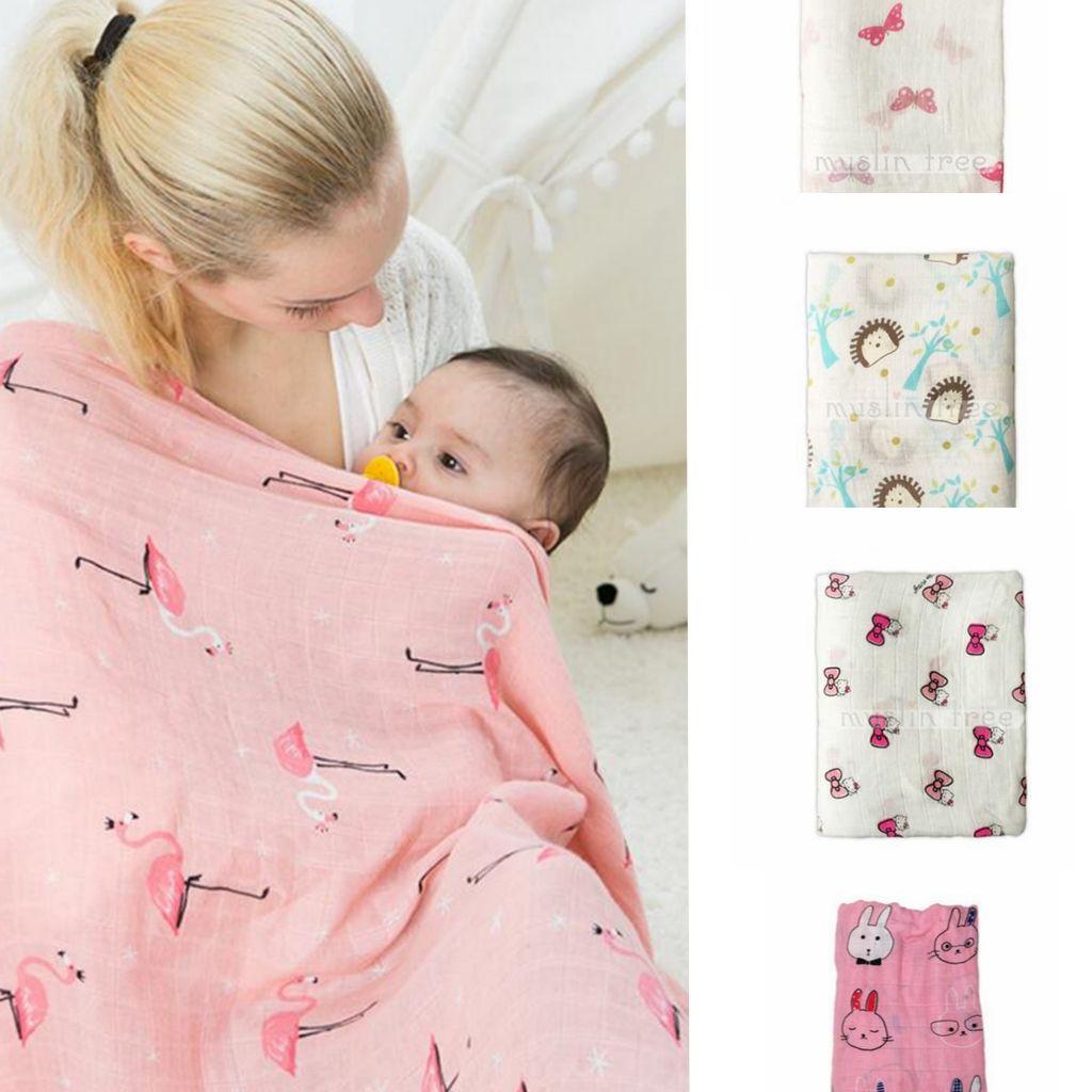 Ребенок Муслин одеяло для новорожденных Аден Anais обернуть малыша Инс бамбуковые банные полотенца животного Parisarc Sleepsacks постельных принадлежностей 120*120см 23 дизайн KKA1462