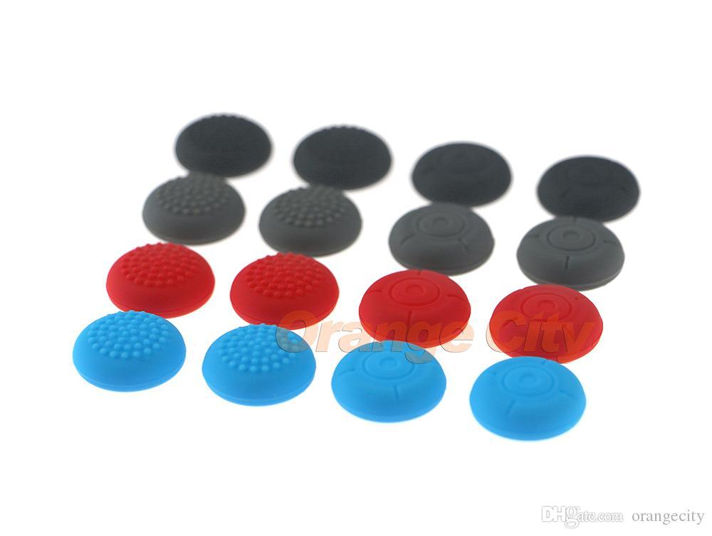 Joystick Kapaklar Renkli Silikon Analog Kavrama Thumbstick düğmesi kapağı Anahtarı NS NX Aksesuarları için kapak