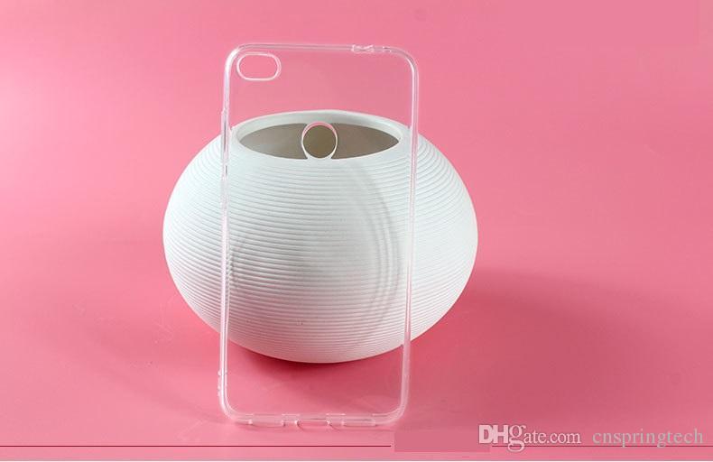 Am billigsten! Telefonkasten für huawei p10 p8 p9 lite max p7 mate 7 honor 7 6 plus transparent klar tpu gel telefon weiche rückseitige abdeckung 50 stücke