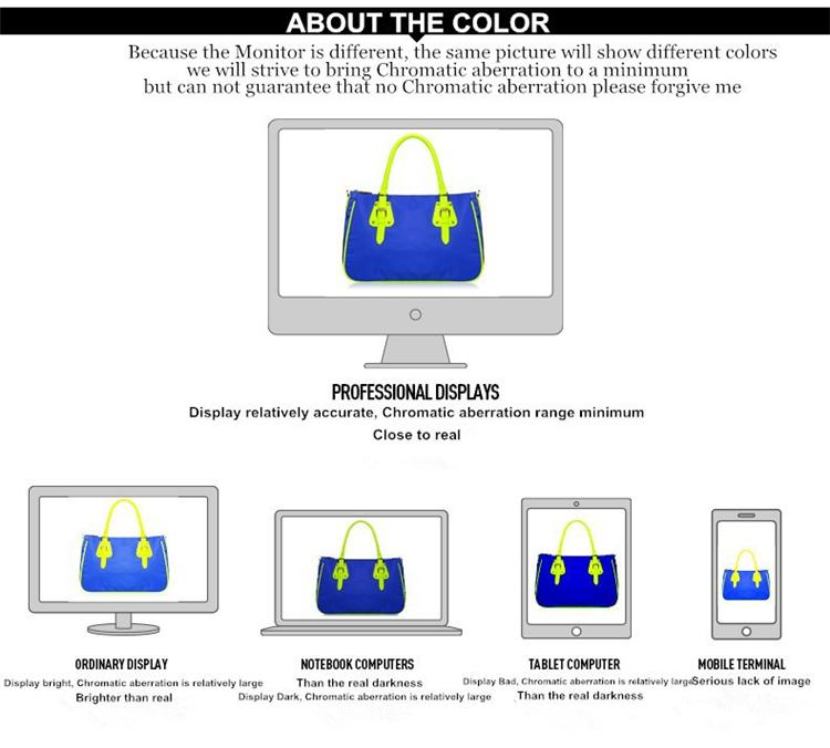About the colors