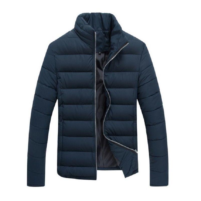 2016 Winter Jacket Men Casual Cotton Coat Outdoors Warm Slim parka men Solid Clothes Plus size XXXL manteau homme brand clothing