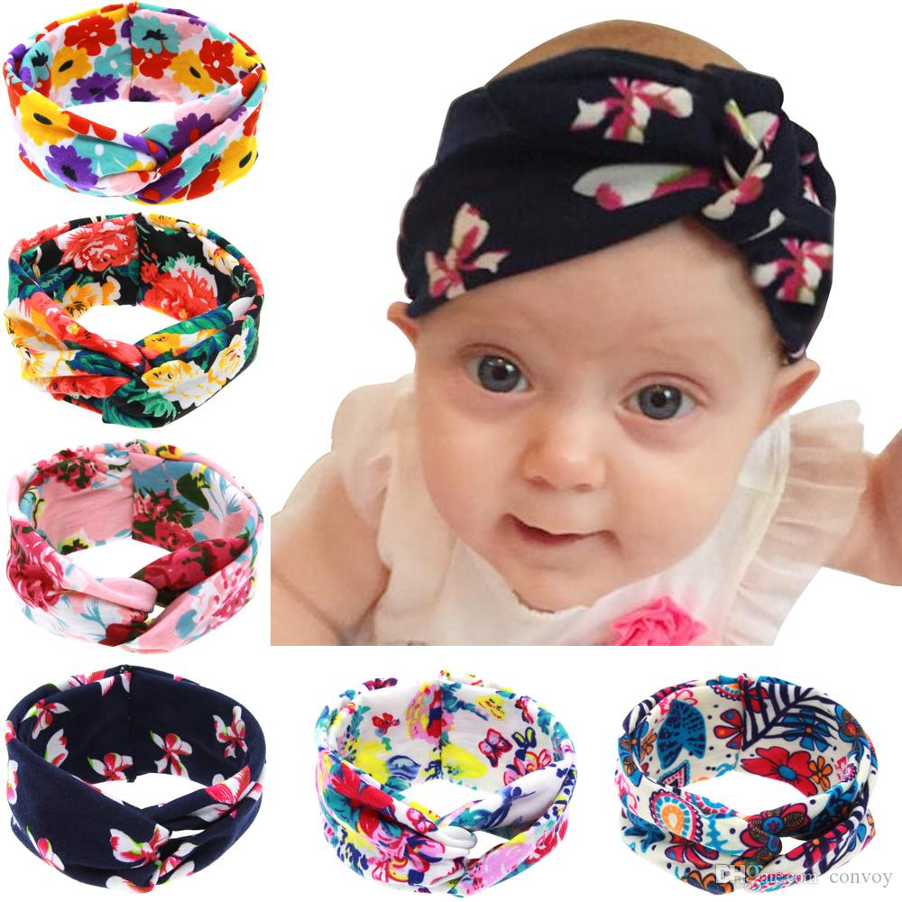 Baby Girls Cotton Zipper Shape Hairband Headband Kid Girls Turban Headwear New