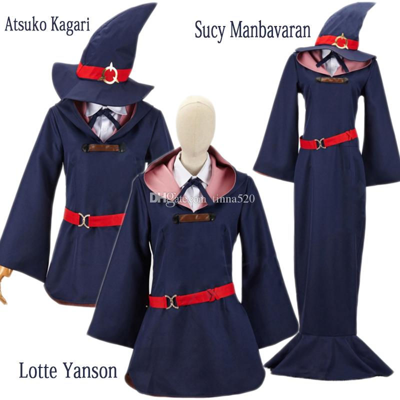 Little Witch Academia KagariAtsuko Clothing Cos Cloth Cosplay Costume