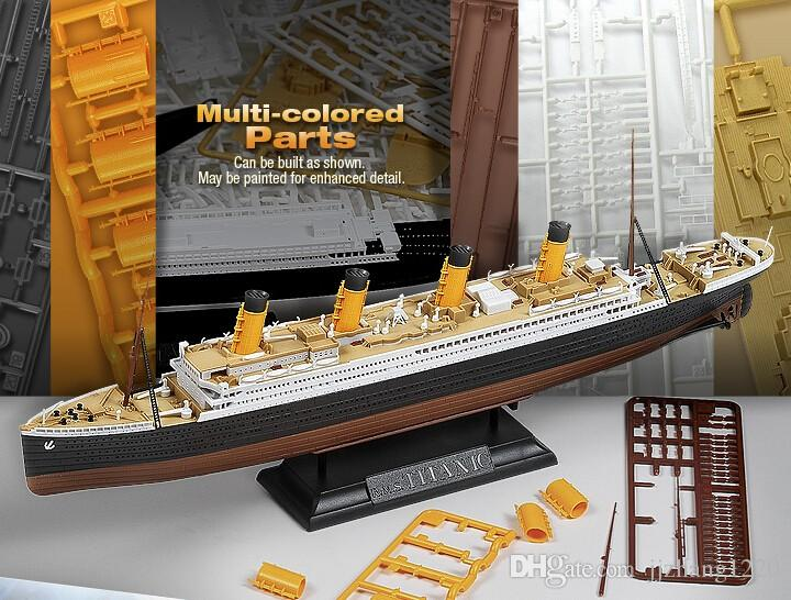 Academy 14214 Multi Colored Parts 1 700 1 1000 Scale Rms Titanic Model Kit Ship Toy Assembled Model Wooden Model Ship Kits For Adults Best Wooden