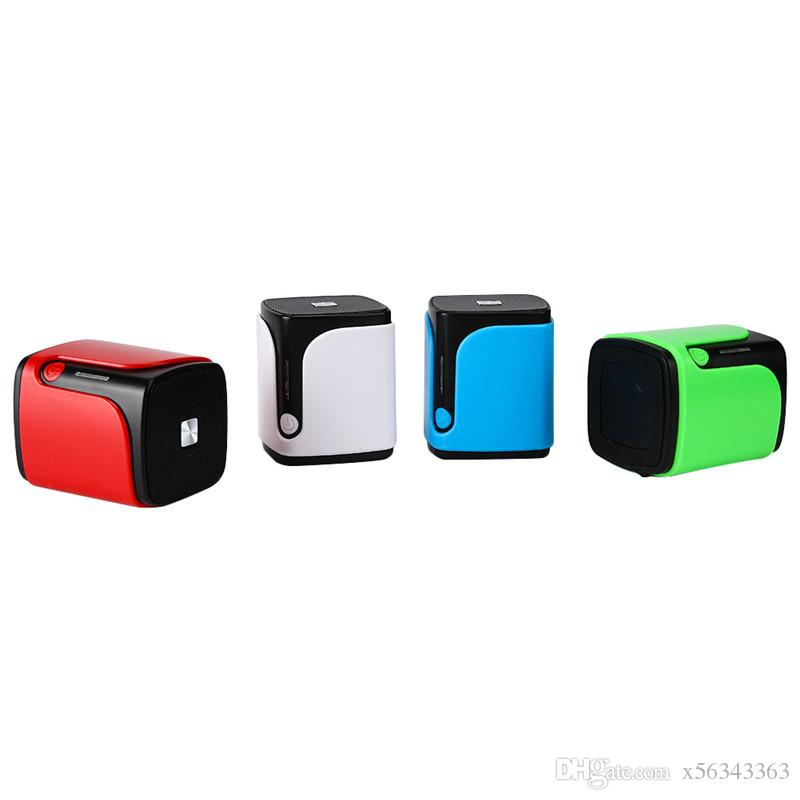 New S9 Mini Portable Speakers Subwoofer Hands-free Call Wireless Bluetooth Speaker with FM Radio Function 4 Colors MOQ:20PCS