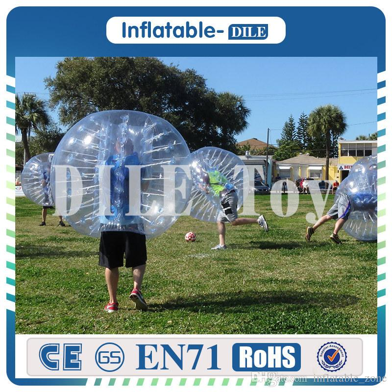 Dia 1.5m PVC Inflatable Bubble Soccer Football Ball for Children,Zorb Ball, Inflatable Human Hamster Ball, Bumper Ball For Kids
