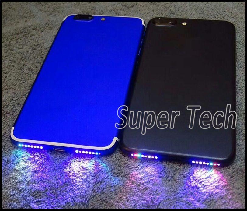 Per iPhone7 Smart Phone Speaker Lamp Glowing Flex Rendi il tuo altoparlante del telefono Shinning DIY Glowing Flex per iPhone 7 7Plus 6 6S Plus